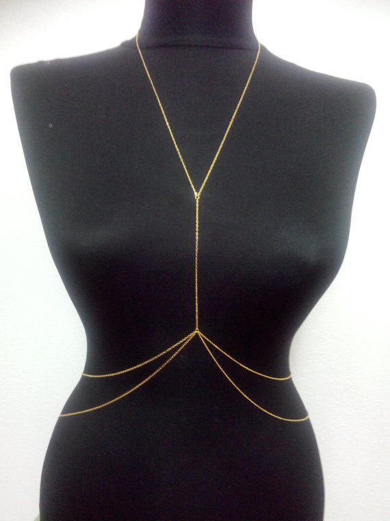 MukoShop: Gold Body Chain