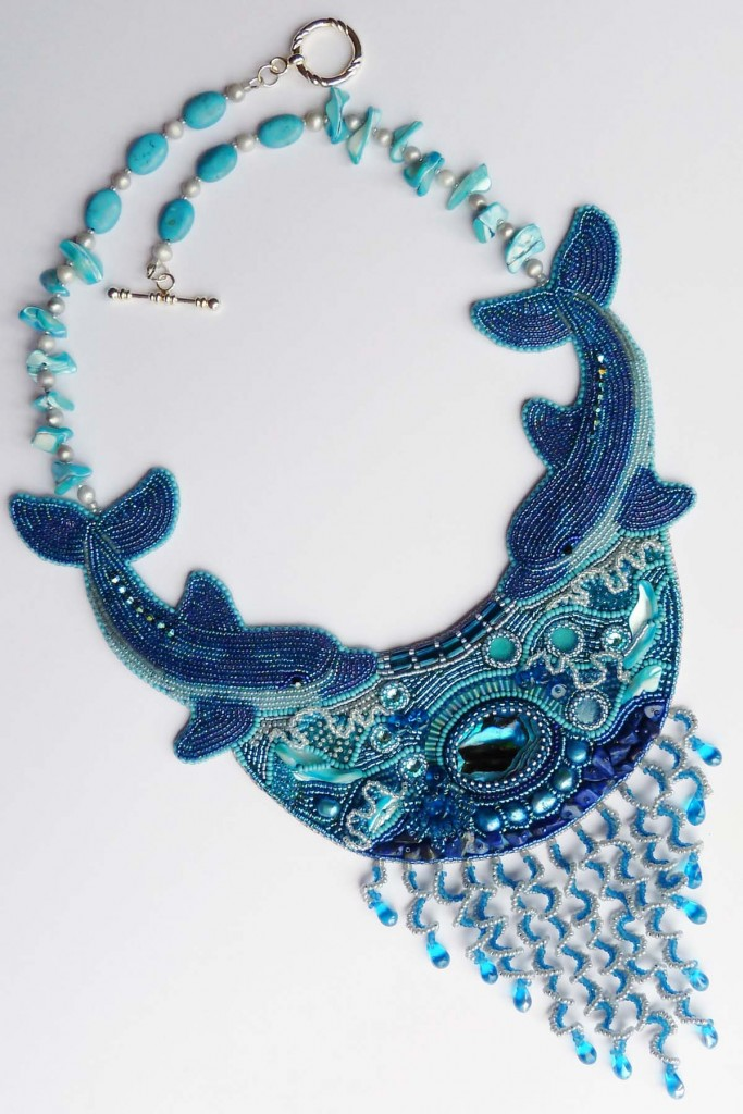 Dance Of Dolphins Necklace